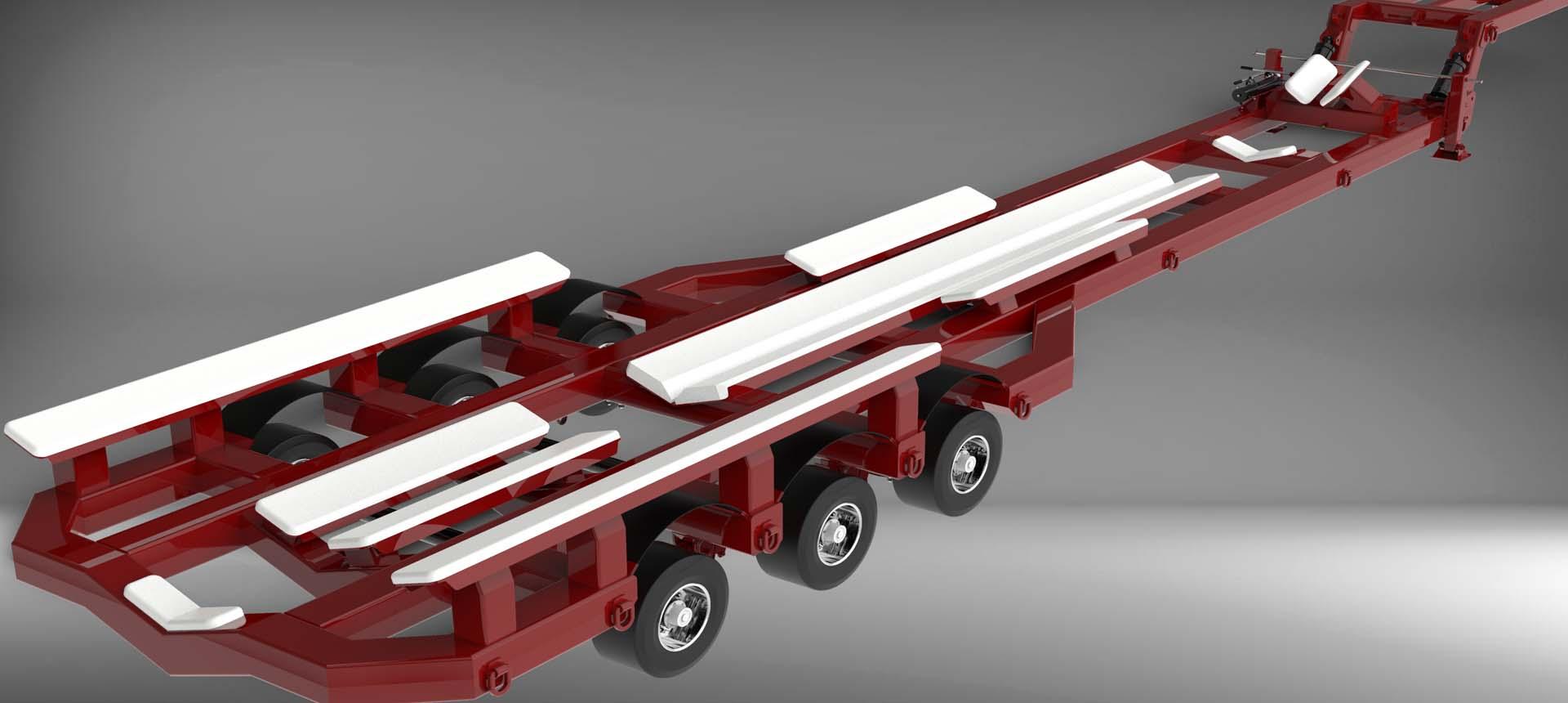 Berryer Design Industrial Automotive Trailer