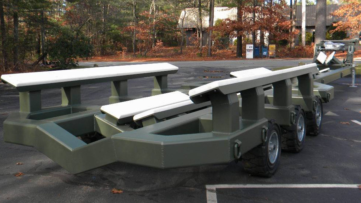 Hostar 30T Riverine Bunk Trailer Ready for Delivery