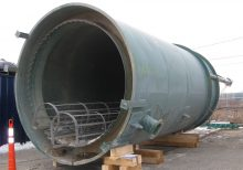 Waste-water clarifier