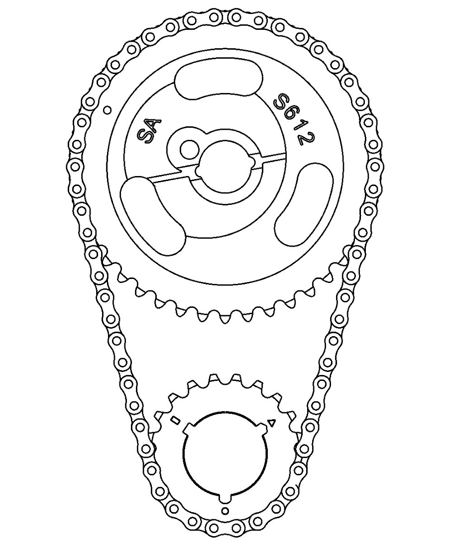 TIMING CHAIN FOR WEB