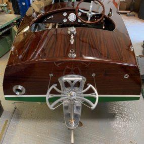 """Miss Isle"" built by Dan Lee Boatbuilding, UK"